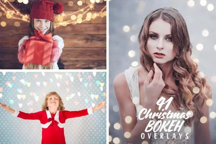 40+ Christmas Creative Overlays Free Download