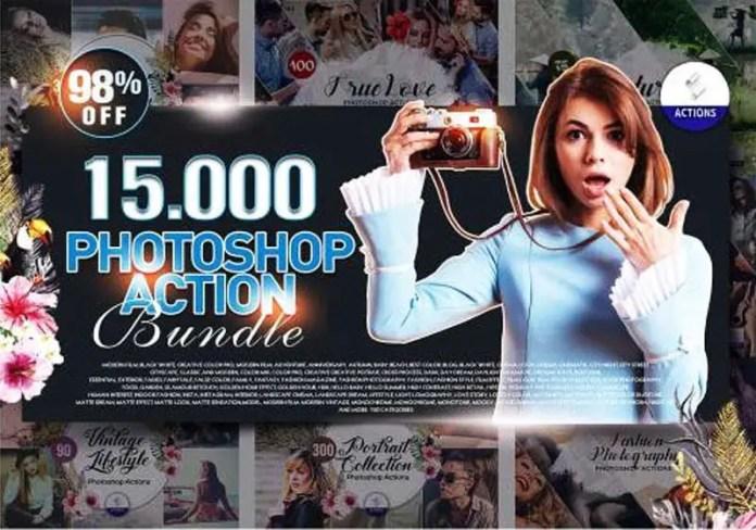 15000 Photoshop Actions