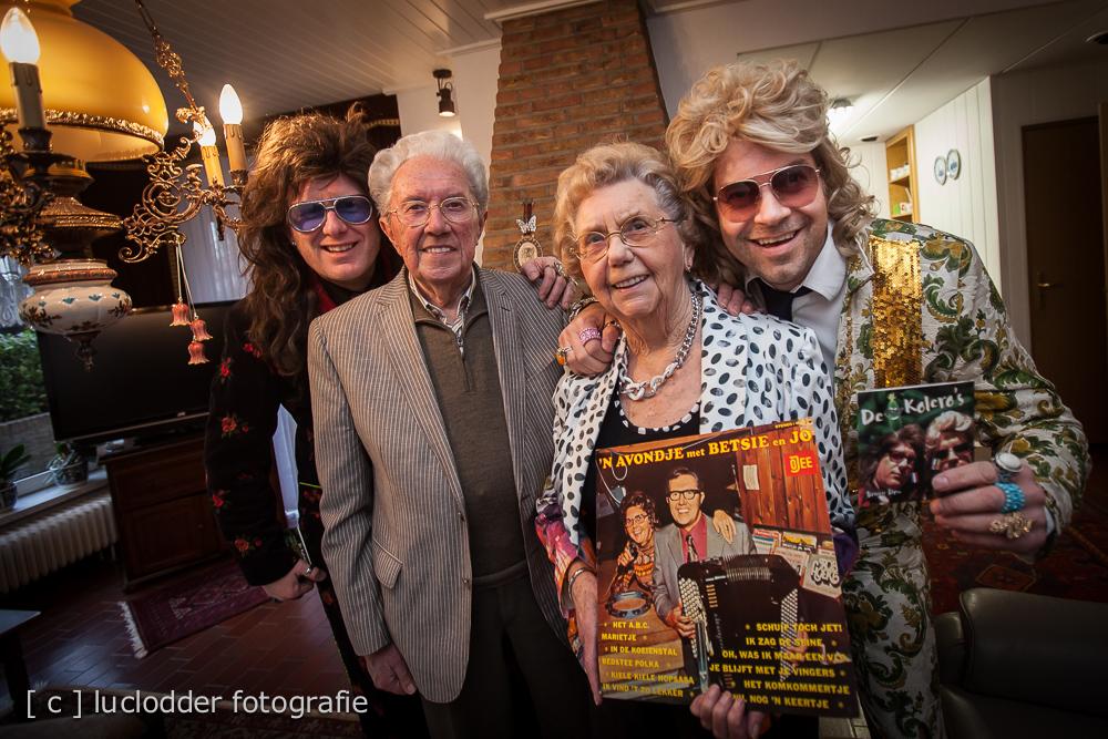 Betsy (86) en Jo (85) - Komkommertje. De Kolero\'s