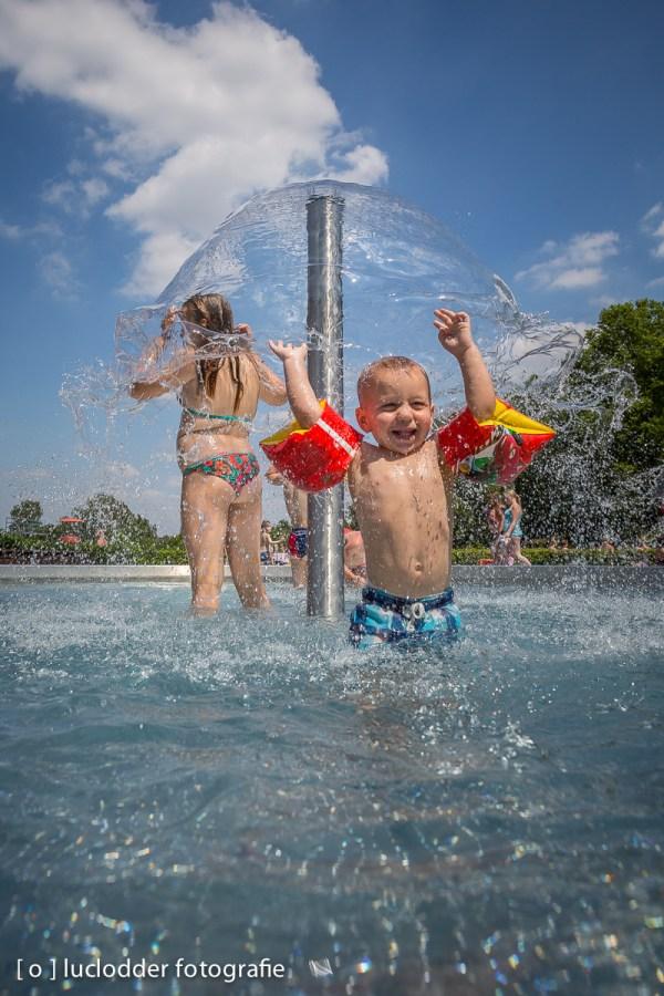 Er was een warme zomer, en veel waterpret.