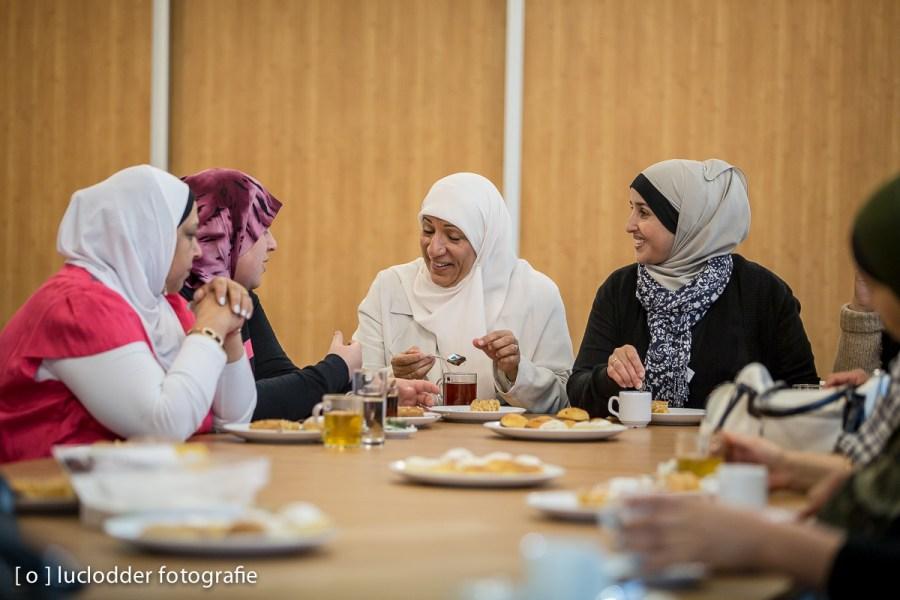 In buurtcentrum MSP kwamen wekelijks vrouwen bij elkaar en wisselden ervaringen uit.