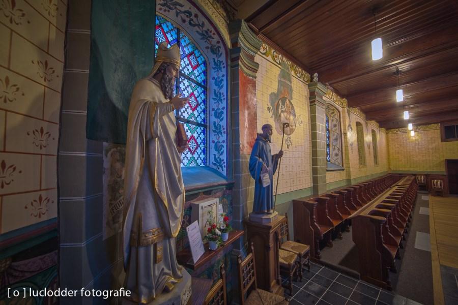 Het Clemens Kerkje in Merkelbeek was eindelijk klaar na restauratie.
