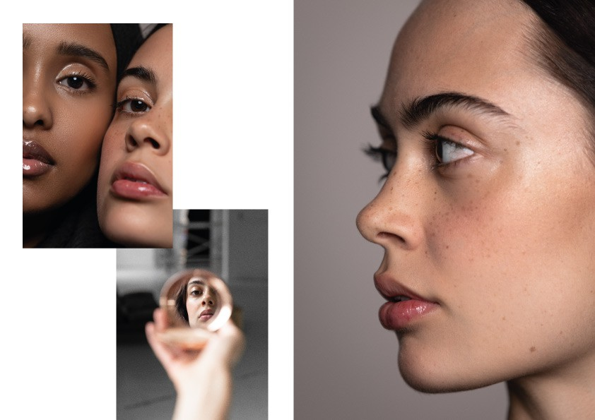 Beauty Editorial by Lucretia Mettier