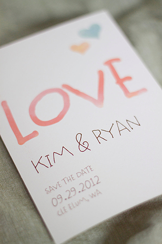 Handmade Not Homemade Wedding Invitations On A Budget
