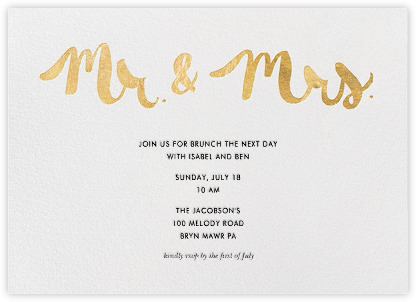 Our Favorite Day After Wedding Brunch Invitations Nice Post Reception 4 Photos Al
