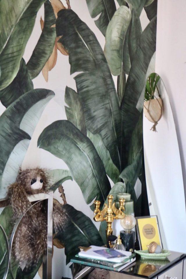 Banaan leaf wallpaper