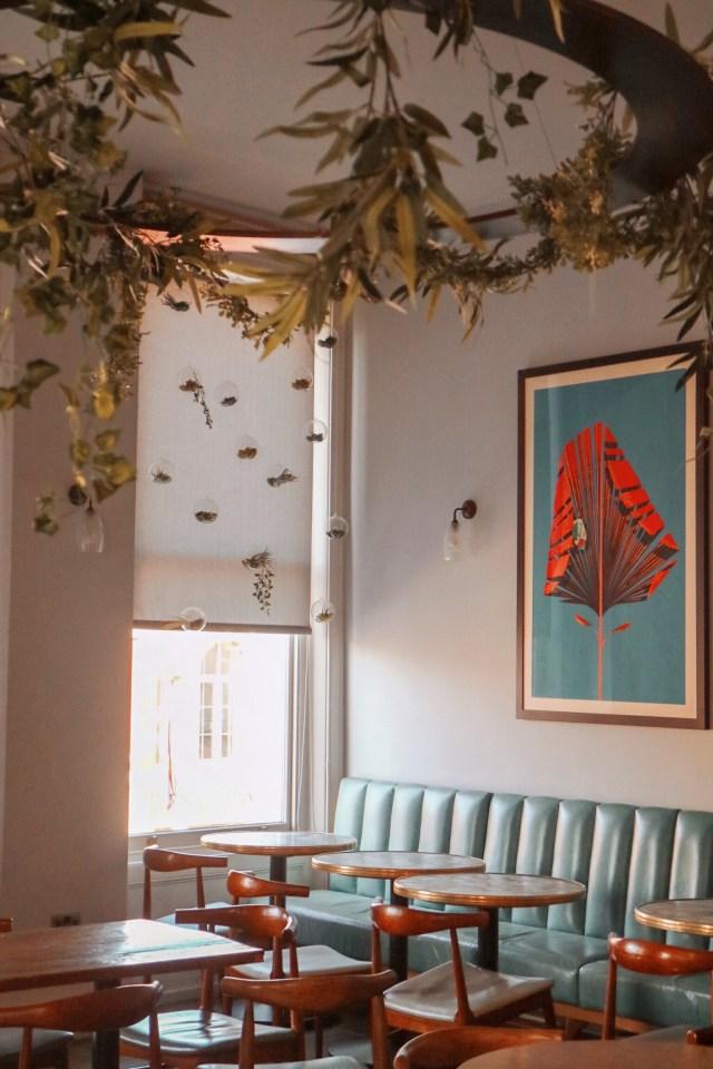 interior shot of Gin Tonica restaurant