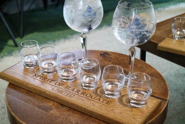 tasters of straight gin