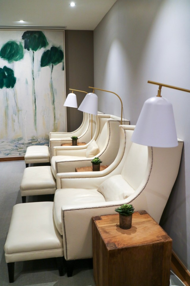 the relaxation rooms at rudding park spa
