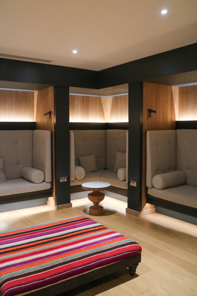 relaxation rooms at rudding park spa