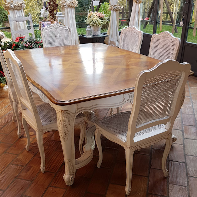 Offerte e vendita online di sedie. Tavolo Provenzale Decorato