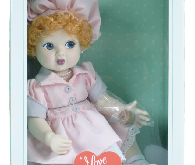I Love Lucy Precious Kids Chocolate Factory Baby Lucy Doll