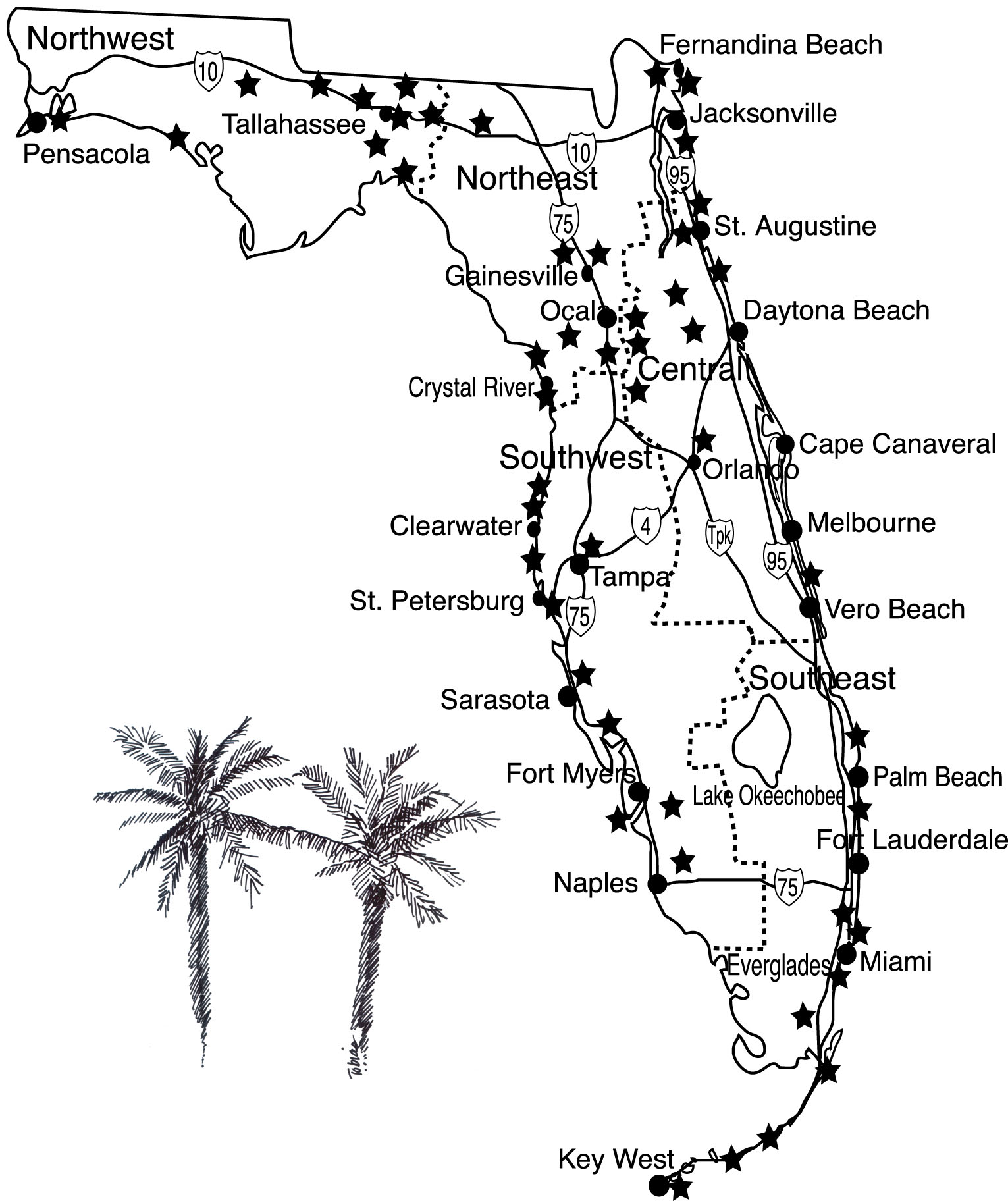 50 Great Walks In Florida
