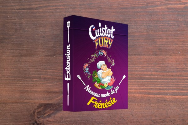 Tuck box jeu de 7 familles sur mesure