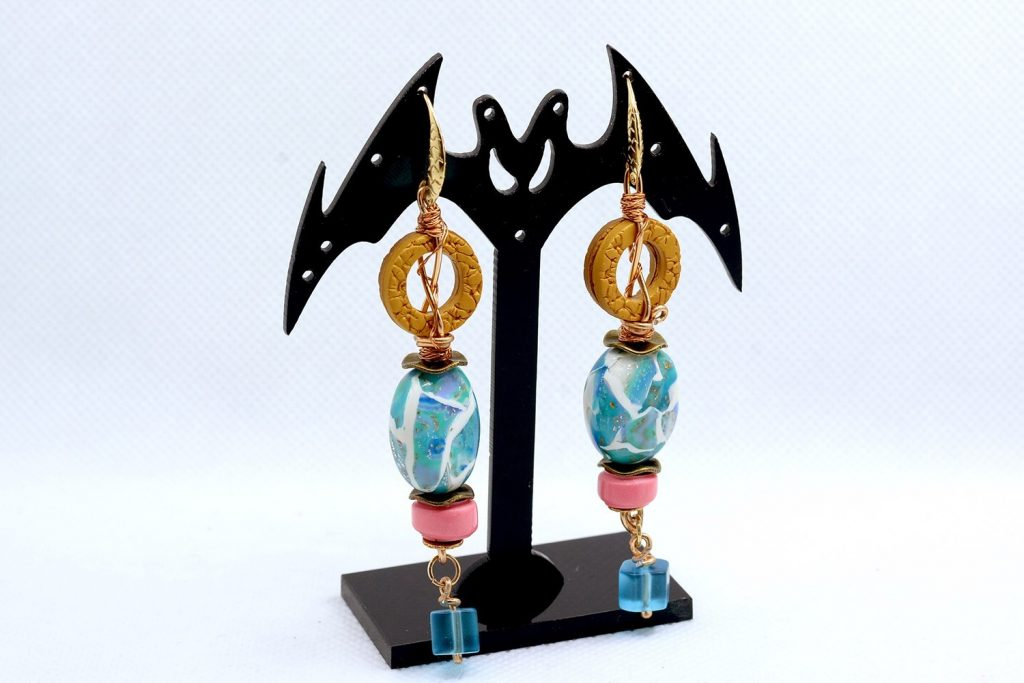 Long Earrings. On my table today 7