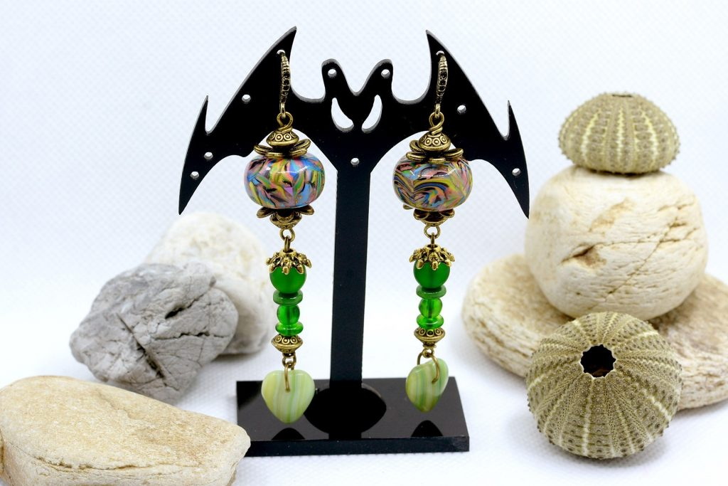 Long Earrings. On my table today 9