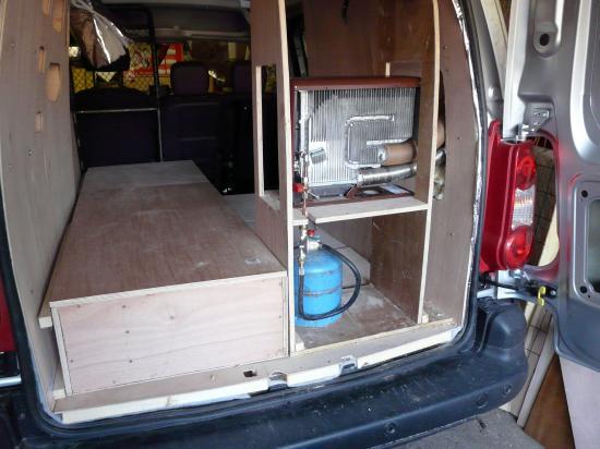 Berlingo Citroen Amnagement En Camping Car