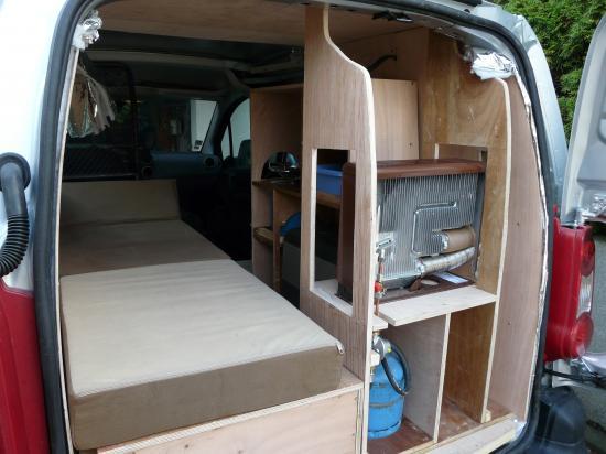 Berlingo Citroen Amnage Camping Car