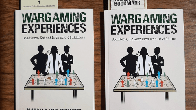 Wargaming Experiences Book cover