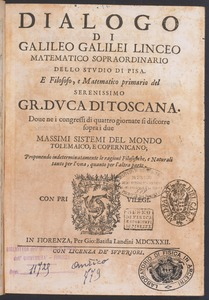 Dialogue of Galileo Galilei