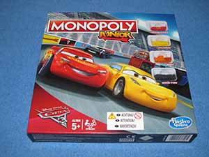 Monopoly Junior: Cars 3