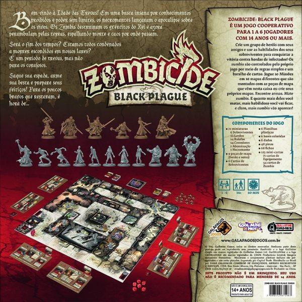 zombiecide - black pague