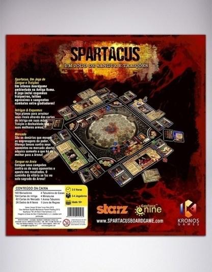 spartacus - fundo
