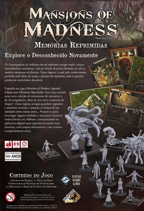 Mansions of Madness - Memórias Reprimidas
