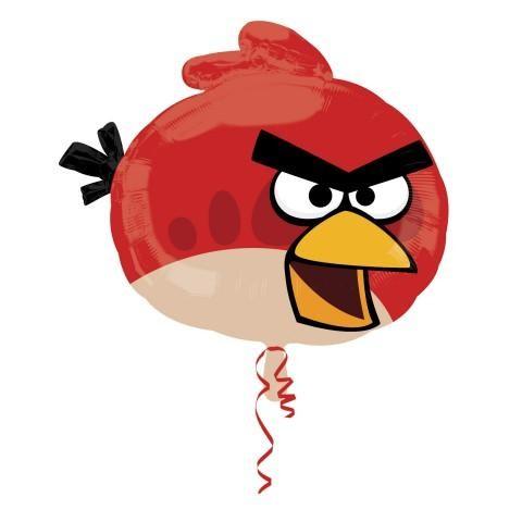 angry birds red folienballon