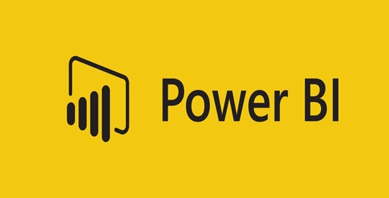 Power BI Logo linking to Microsoft's Power BI Website
