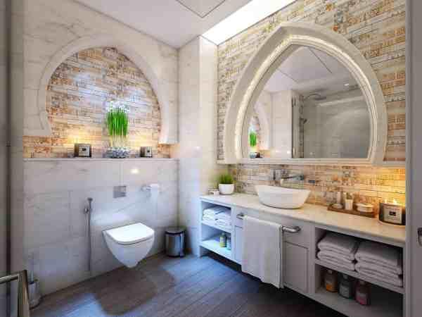 Badezimmer mit orientalischem Touch