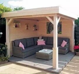 wooden canopy high quality garden