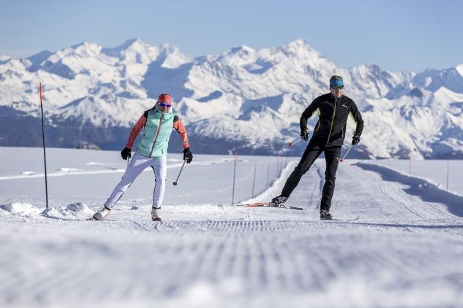 esqui de fondo en Gstaad