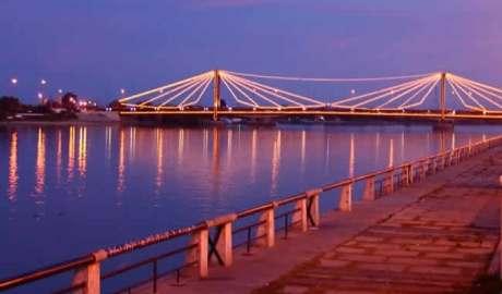 Foto del puente de Rosario