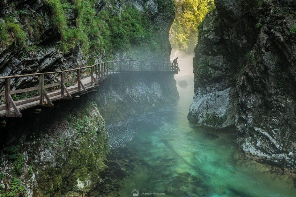 Bled Gorge Vitgnar