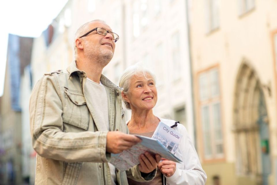 Destinos turísticos para la tercera edad