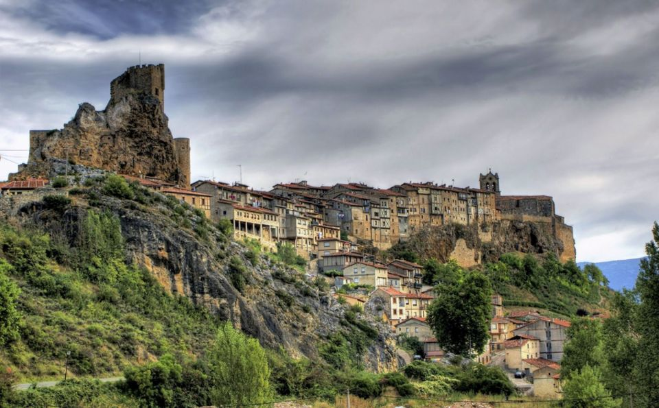 Pueblo de frías de Castilla y León