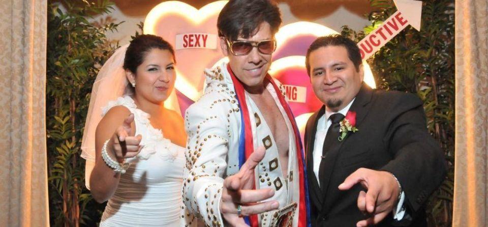 Boda en Las Vegas Elvis