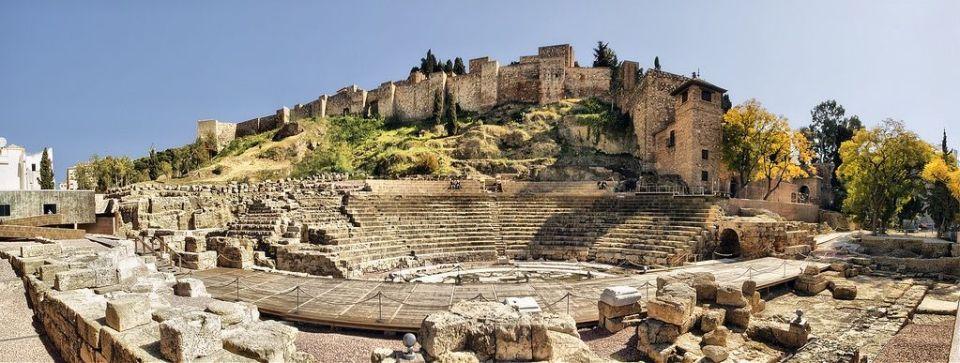 Alcazaba y teatro romano de Málaga