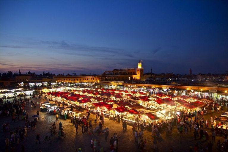 Marrakech, ciudad de Marruecos