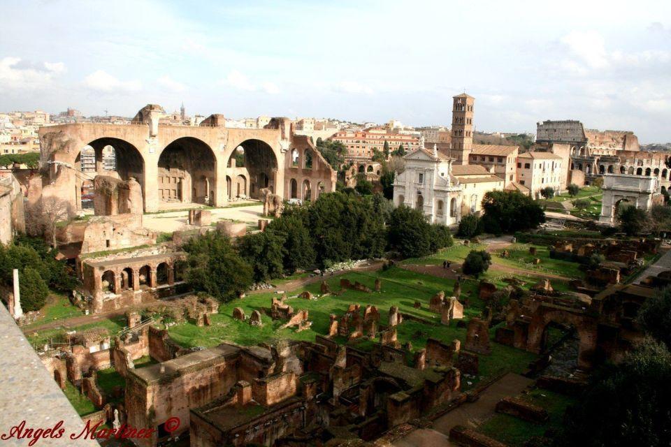 colina palatina en roma