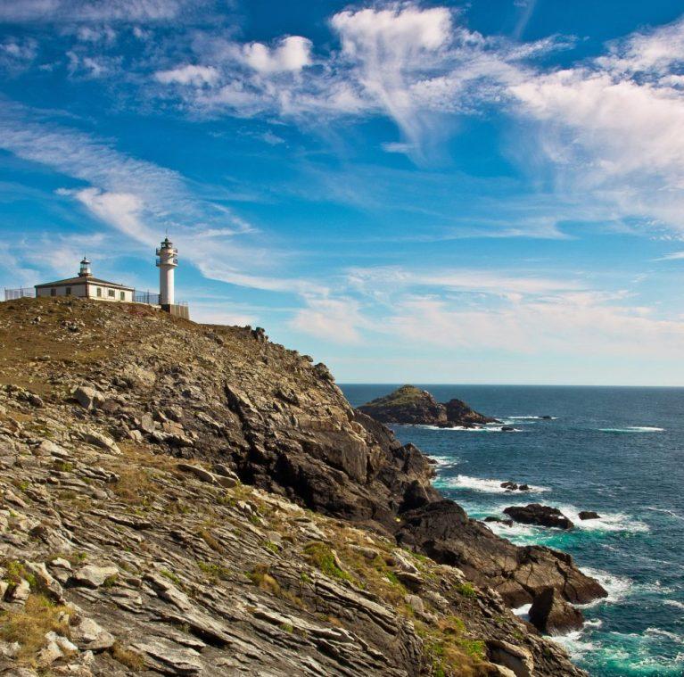 Ruta de los faros en Galicia - Faro de Touriñán