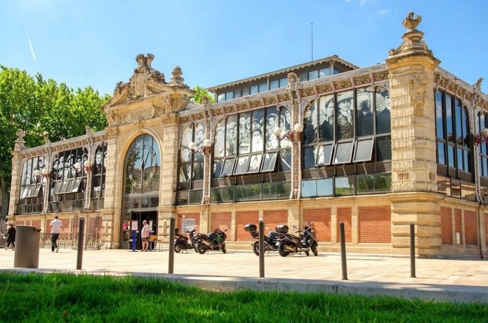 Mercado Les Halles, Narbona