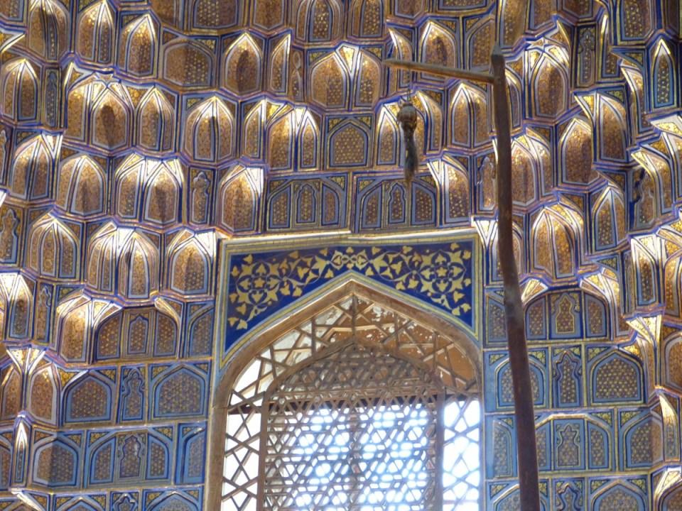 El mausoleo del emir Gur es un impresicindible de un viaje a Samarcanda