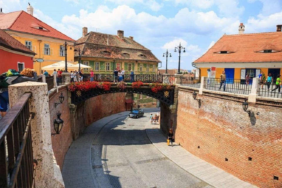 El puente de las Mentiras de Sibiu