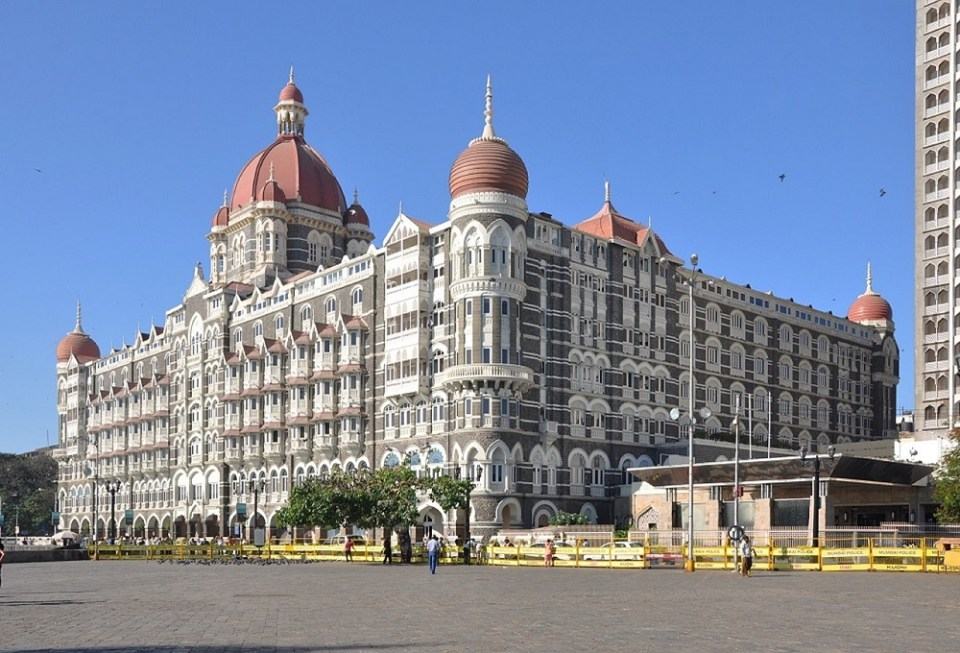 El hotel Taj Mahal Intercontinental