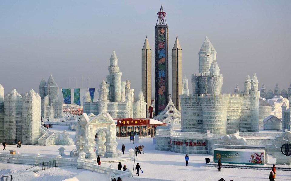 Harbin, una de las ciudades más bonitas del mundo en invierno