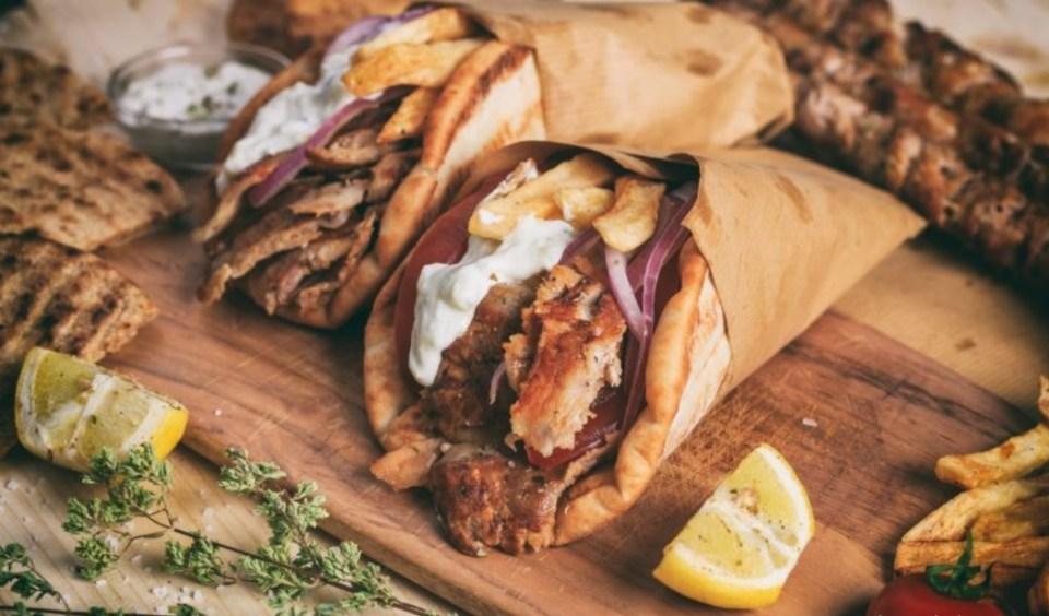 Gyros, el más internacional de los los platos típicos de Grecia