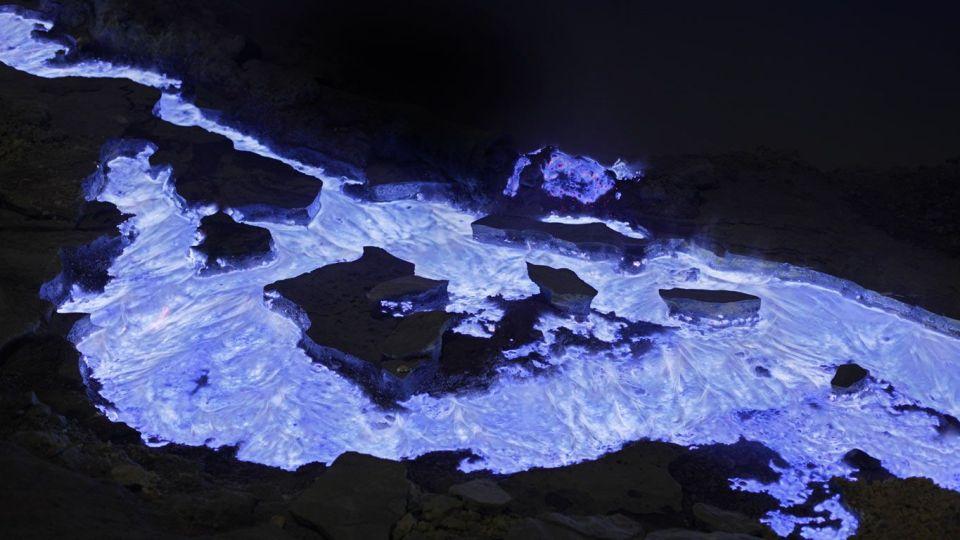 Kawah Ijen: un volcán espectacular de lava azul
