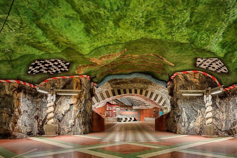 el metro de la ciudad